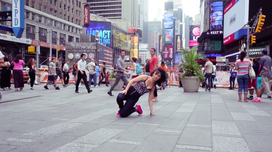 "Silvia ""Sissy"" Cerdelli – Freestyle in New York City"